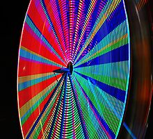 Muti Colored Ferris Wheel by joevoz