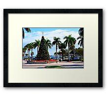 Fort Pierce City Square  Framed Print