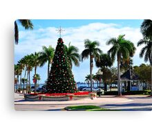 Fort Pierce City Square  Canvas Print