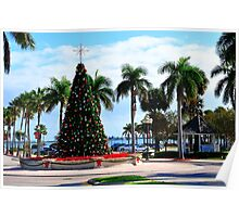 Fort Pierce City Square  Poster