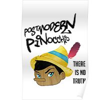 Postmodern Pinocchio Poster