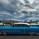 1954 Cadillac and Lockheed Constellation Super G by TeeMack