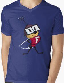 Fearless Fly Mens V-Neck T-Shirt