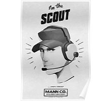 I'M THE SCOUT - Team Fortress 2 Poster