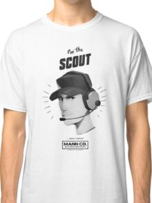 I'M THE SCOUT - Team Fortress 2 Classic T-Shirt