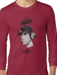 I'M THE SCOUT - Team Fortress 2 Long Sleeve T-Shirt