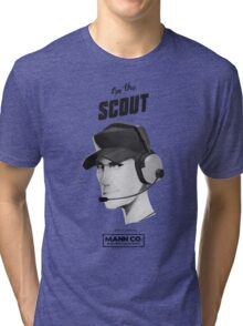 I'M THE SCOUT - Team Fortress 2 Tri-blend T-Shirt