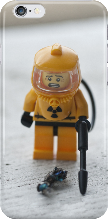 Cleanup (iphone case) by jude walton