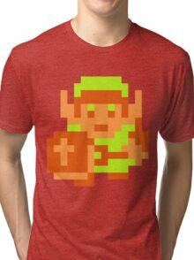 Link (Original Sprite) Tri-blend T-Shirt