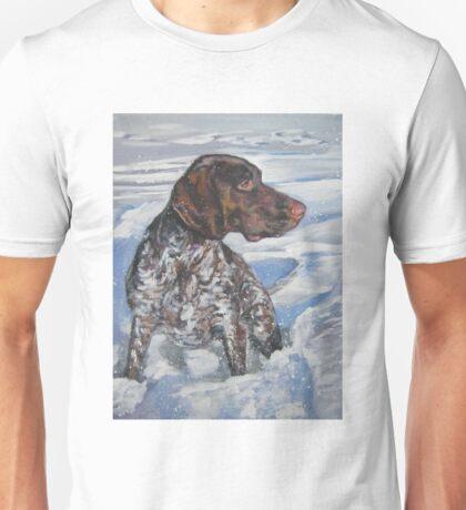 German Shorthaired Pointer Fine Art Painting Unisex T-Shirt