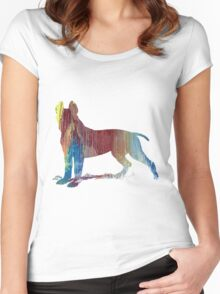 Pit bull terrier  Women's Fitted Scoop T-Shirt