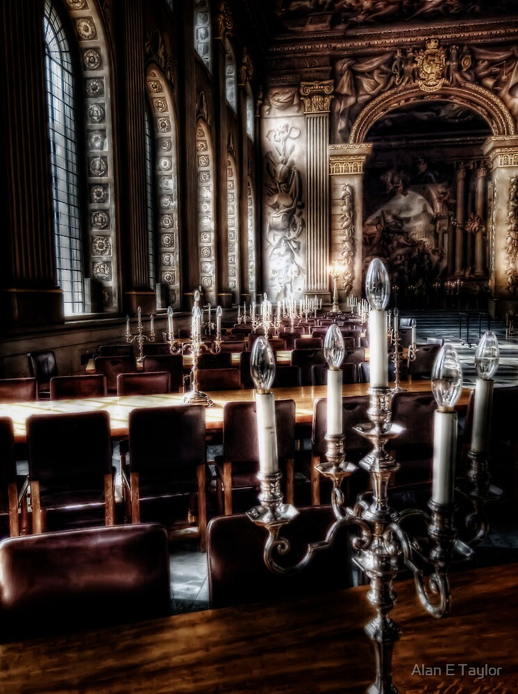 The Painted Hall by Alan E Taylor