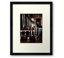 The Painted Hall Framed Print