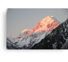 Sunrise over Mt. Cook (Aoraki) Canvas Print