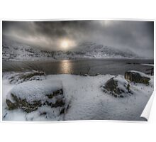 Approaching Snow Storm Poster