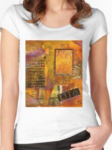 A Woman's Life T-Shirt Women's Fitted Scoop T-Shirt