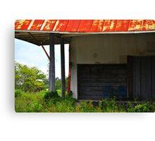 Garage Door Canvas Print