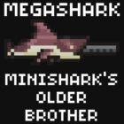 MegaShark Gun Terraria White Writing by Funkymunkey