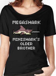 MegaShark Gun Terraria White Writing Women's Relaxed Fit T-Shirt