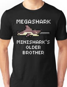MegaShark Gun Terraria White Writing Unisex T-Shirt