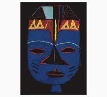 Blue Mask by Josh T-Shirt by © Angela L Walker