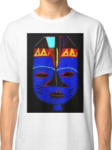 Blue Mask by Josh T-Shirt Classic T-Shirt
