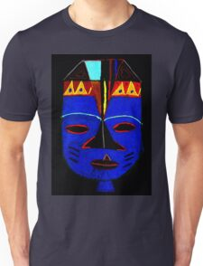 Blue Mask by Josh T-Shirt Unisex T-Shirt