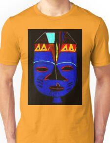 Blue Mask by Josh T-Shirt Unisex T-Shirt