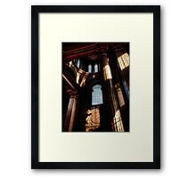 Exit from the Painted Hall Framed Print