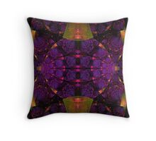 Mechanical Wings Throw Pillow