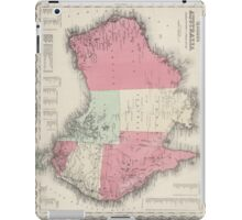 Vintage Map of Australia (1865) iPad Case/Skin