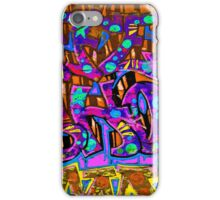 Graffiti #95b iPhone Case/Skin