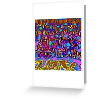 Graffiti #95b Greeting Card