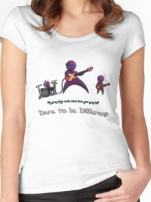 Dare to be Different Band edition Women's Fitted Scoop T-Shirt