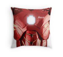 Iron Lego Throw Pillow