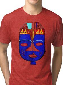 Blue Mask by Josh 2 T-Shirt Tri-blend T-Shirt