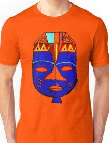 Blue Mask by Josh 2 T-Shirt Unisex T-Shirt