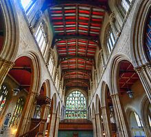 St Mary The Virgin University Church - Nave by Yhun Suarez