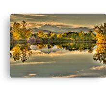 Golden Dreams At Golden Ponds Canvas Print