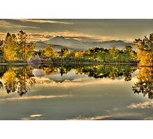 Golden Dreams At Golden Ponds Photographic Print