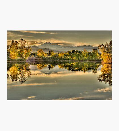 Golden Dreams At Golden Ponds Photographic Print