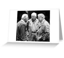 Three gentlemen from Sienna Greeting Card