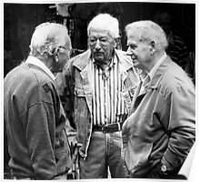 Three gentlemen from Sienna Poster