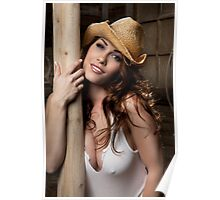 Cowgirl Kym Poster