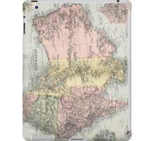 Vintage Map of Australia (1891) iPad Case/Skin
