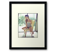 Tina-Grey-5 Framed Print