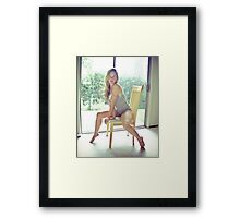 Tina-Grey-4 Framed Print