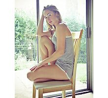 Tina-Grey-3 Photographic Print