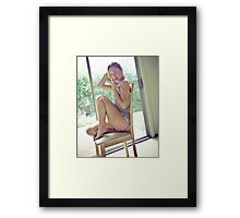 Tina-Grey-2 Framed Print