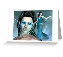 Elfennau of the Water Greeting Card